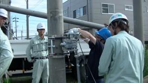 電柱カッター使用講習H27.7.2404